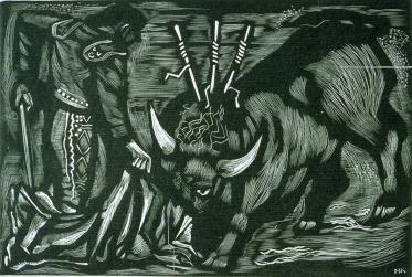bullfight-1944